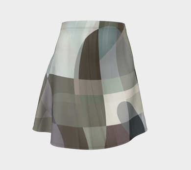 Navigation Control Flare Skirt by Deloresart