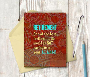 0586 Retirement Note Card