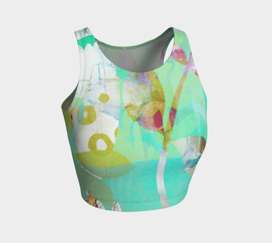 Abundant Forest Crop Top by Deloresart