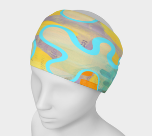 Sassy Serpentine Headband by Deloresart - deloresartcanada
