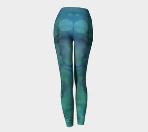 Because of You Leggings by Deloresart