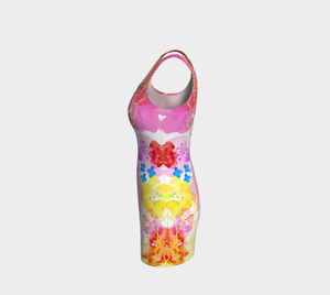 Rosie Outlook Bodycon Dress by Deloresart