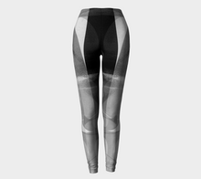 Caring Cup Grey and Black Leggings by Deloresart