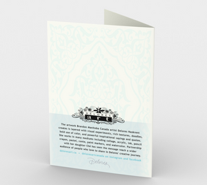 1302. First Communion/Light Of The Lord  Card by DeloresArt