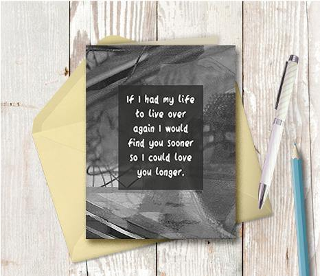 0601 Love You Sooner Note Card