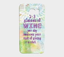 873 Three Glasses Of Wine Per Day Device Case