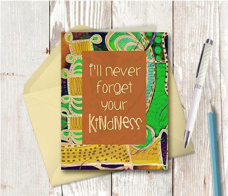 0623 Kindness Note Card