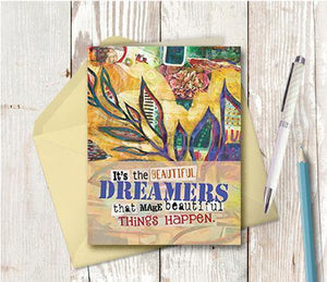 0625 Beautiful Dreamers Note Card
