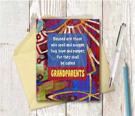 0628 Grandparents Snuggle Note Card