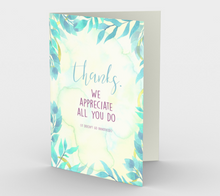 1183. Thanks We Appreciate All You Do  Card by DeloresArt