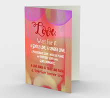 0097 Together Forever Love Card by DeloresArt
