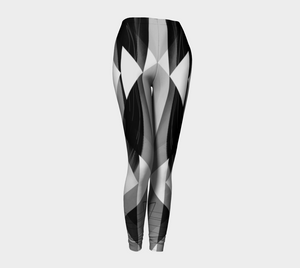 Obtuse Romance Greys Leggings by Deloresart