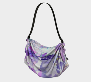 Arbour Mist Origami Tote by Deloresart