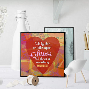 0676 Sister Side By Side Art - deloresartcanada