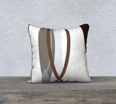 Side by Side Throw Pillow by Deloresart