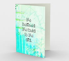 1338 She Believed She Could Card by Deloresart