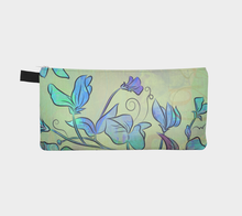 Queen Sweet Pea Pencil Case by Deloresart