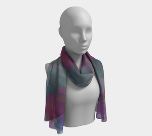 Kicking Horse Pass Scarf by Deloresart