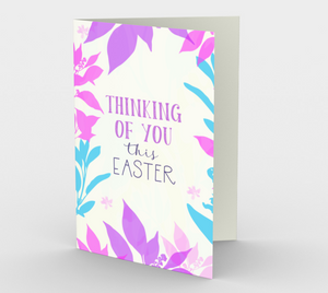 1166. Thinking Of You This Easter  Card by DeloresArt