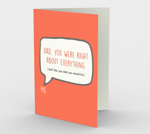 1259. Dad You Were Right  Card by DeloresArt