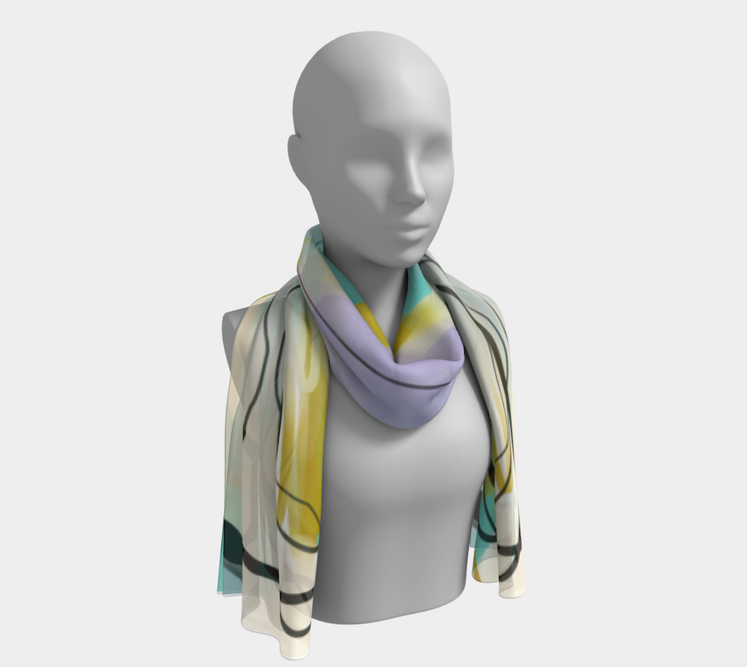 Shout From The Rooftops Scarf by Deloresart