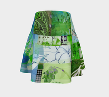 Lush Culture Flare Skirt by Deloresart