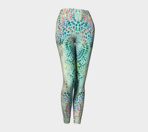 Earth Message Green Leggings