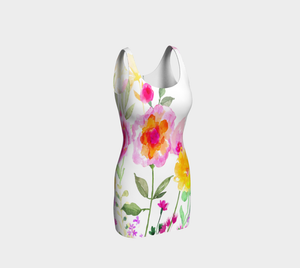 St. Mike's Garden Bodycon Dress by Deloresart