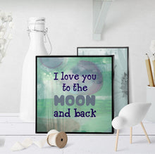0818 Love You To The Moon Art