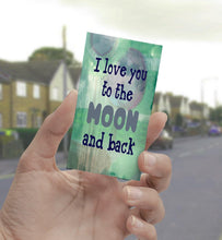 0818 Love You To The Moon Art - deloresartcanada