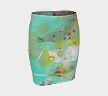Abundant Forest Fitted Skirt by Deloresart