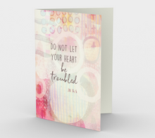 1359 Do Not Let Your Heart Card by Deloresart