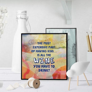 0876 Most Expensive Things About Kids Wine Art