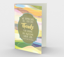 1180. We Appreciate All You Do  Card by DeloresArt