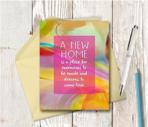 0899 New Home Note Card