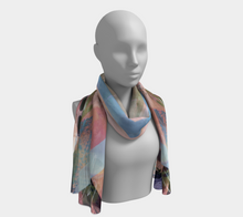 Rusty Caliche Scarf by Deloresart