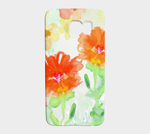 Coral Floral Device Case