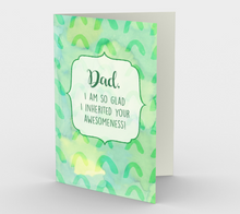 1214. Dad Awesomeness  Card by DeloresArt