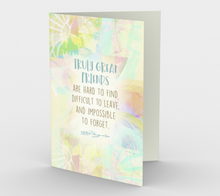 0591 Truly Great Friends Card by Deloresart
