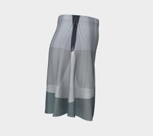Street View Neutral Flare Skirt