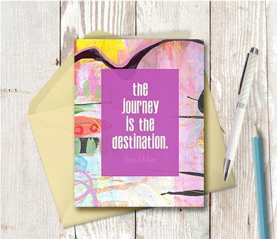 0905 Destination Journey Note Card