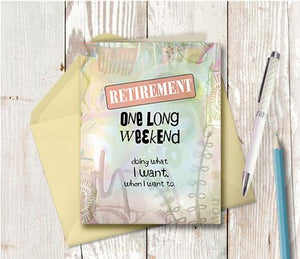 0937 Retirement Note Card