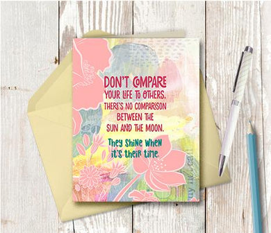 0943  Do Not Compare Note Card