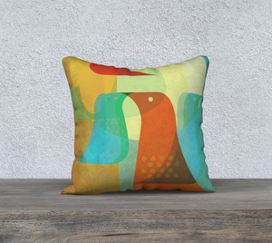 Birds of a Feather Throw Pillow by Deloresart
