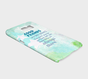 314 Good Friends Are Like Stars Device Case