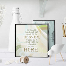 0956 Because Someone We Love Is In Heaven Art - deloresartcanada
