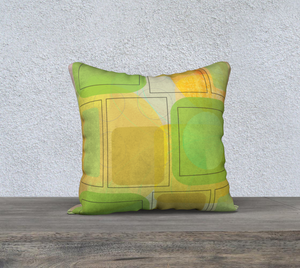 Corona Corona Greens Pillow by Deloresart