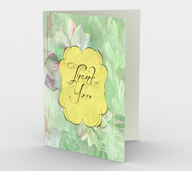 0354 Thank You  Card by DeloresArt