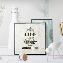 0977 Life Doesn't Have To Be Perfect Art