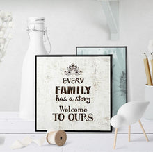 0979 Every Family Has A Story Art - deloresartcanada